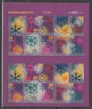 Nederland NVPH 2446-55 Velreconstructie Decemberzegels 2006 Gestempeld Let op!