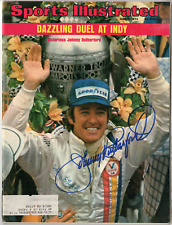 Johnny Rutherford signed autographed Sports Illustrated magazine! Authentic!