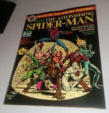 Marvel Treasury Edition #18 astonishing spiderman 1978 morbius iron fist amazing