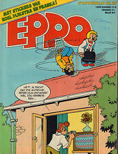 STRIPWEEKBLAD EPPO 1978 nr. 27 - STICKERS FRANKA & ROEL DIJKSTRA/SJORS & SJIMMIE