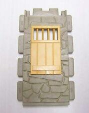 PLAYMOBIL (B3206) WESTERN - Mur en Pierres Fenêtre Barreaux Sheriff 3786