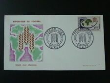 food cereal agriculture against hunger FAO FDC Senegal 1963