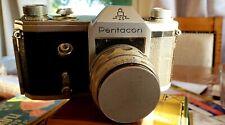 Vintage Pentacon ZI 1948-1962 35mm flim SLR Camera