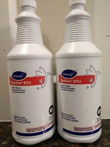 2( Two) of DIVERSEY SPITFIRE RTU Power Cleaners,each is 1 Quart
