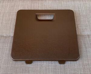 TOYOTA 1979-83 T18 COROLLA (TE72) COUPE GENUINE BROWN DASH FUSE BOX COVER!! EC!!