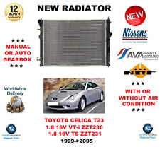 FOR TOYOTA CELICA T23 1.8 16V VT-i TS ZZT230 ZZT231 1999->2005 NEW RADIATOR