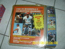1988-89 Baseballs 100 Hottest Rookies MLB Score Limited Edition Collector Set