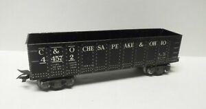 MARX Trains C&O Gondola 8-Wheel & 3/16 Scale Trucks O Gauge 1950s