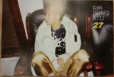 KIM SUNG KYU 2ND ALBUM POSTER [ B VERSION ] UNFOLD POSTER  in Tube - POSTER ONLY
