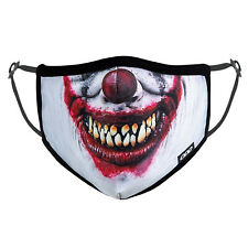 ODD SOX Face Mask - Evil Clown (One Size)