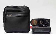 Polaroid Sonar 5000 Auto Focus Land Camera Getestet mit Tasche  N.P.55