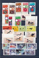 Scotland Staffa Eynhallow Bernera Space Soccer Birds MNH (28 Stamps) (NT228