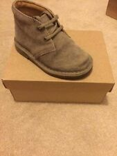Clarks Boots Suede Shoes with Laces for Boys