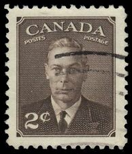 "CANADA 285 - King George VI ""Postes-Postage""  (pf61811)"