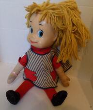 Vintage 60s Sister Belle Talking Doll Mattel Yellow Yarn Hair Swivel Head