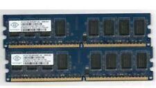 🔥Brand 8GB ⚡️2GBx4 DDR2 2RX8 PC2-6400U 800MHz 240PIN DIMM  RAM Desktop 💥Tested