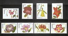 Uganda SC # 612-619 Flowers . MNH