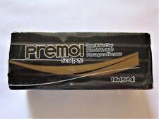Sculpey PREMO - Polymer Clay - 454g LARGE BLOCK - BLACK
