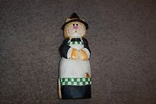 Midwest of Cannon Falls Eddie Walker Halloween Cat Witch Figurine