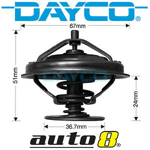 Brand New Genuine Dayco DT59G Thermostat for Audi 200 2.2L Petrol MC 1982-1990