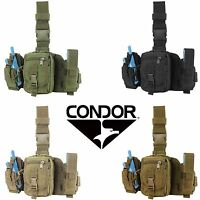 Condor MA25 Tactical Drop Down Leg Rig MOLLE Modular GPS Tool Utility Pouch
