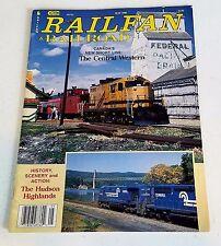 Railfan & Railroad Magazine May 1990 Central Western Shortline Hudson Highlands