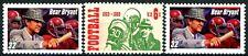 Alabama's Bear Bryant Original & Reprint + 100 Years of Football 3 MNH Stamps