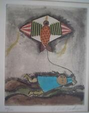 GRACIELA RODO BOULANGER - Vintage Original Etching - Signed & Numbered