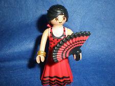 Playmobil argentina Espana flamenco flamencotänzerin Carmen asignaturas sin usar