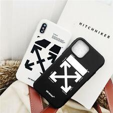 IPhone 6S 7 8 10 11 Negro Blanco para X Apagado Blanco Suave Teléfono Estuche Cubierta 2020 Hot