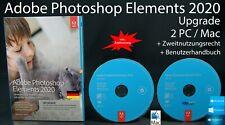 Adobe Photoshop Elements 2020 Upgrade Box + DVD 2 Win/Mac + Anleitung OVP NEU
