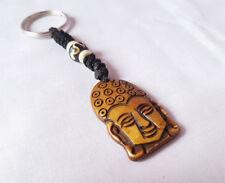 Buddha Head Design Keychain