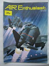 AIR ENTHUSIAST 9/1971 LANCER CARPATHIANS CONCORDE RAF BIPLANE NATTER TUPOLEV