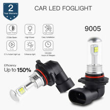 80W 9005 White LED Fog Light Bulb For Ford F-150 F250 F350 Super Duty 1999-2017