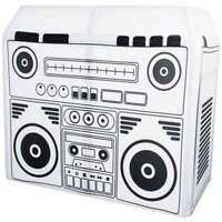 Equinox DJ Booth Boom Box Design Lycra Cloth for Equinox / Gorilla DJ Booth BNIB
