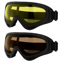 2x Winter Snow Sport Goggles Kids/Adult Ski Snowboard Sun Glasses Eyewear Gift
