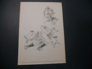 Lou Gehrig - George Loh Drawing Equitable Life Collection