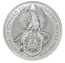2018 Great Britain 10 oz Silver Queen's Beast - The Griffin