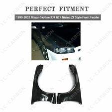Fiber Glass ZT Style Front Fender Guard  FOR 1999-2002 Nissan Skyline R34 GTR