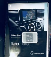 2018-2019 Mercedes GARMIN MAP PILOT SD CARD SAT NAV A B CLA E GLS GLA GLE CLASS