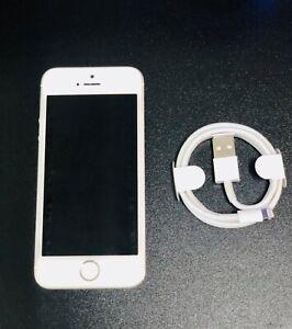 iPhone SE 1ere Gen - 128go - 100% Orignal - Blanc silver - Excellent Etat -