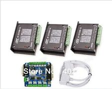 CNC 3 axis Stepper Motor 0.2-5A Driver +Breakout board controller for Router