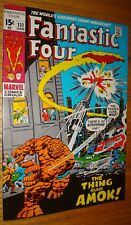 FANTASTIC FOUR #111 BUSCEMA CLASSIC VF/VF+ WHITE PAGES