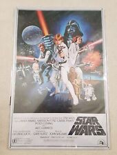 DEAGOSTINI STAR WARS HELMET COLLECTION A NEW HOPE METAL FILM POSTER TIN PRINT