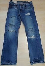 Abercrombie & Fitch (Hollister) destroyed JEANS, correctamente cachondos color y corte