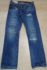 Abercrombie & Fitch (Hollister) destroyed Jeans ,richtig geile Farbe und Schnitt