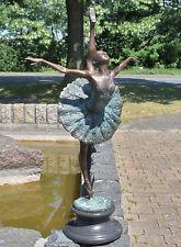 Bronzeskulptur, Tänzerin, Ballerina, Dekoration