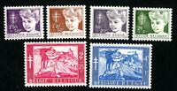 Belgium Stamps # B567-72 VF OG LH Catalog Value $35.00