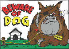 Hy-Ko 20542 Beware Of Dog Novelty Sign 10 x 14""
