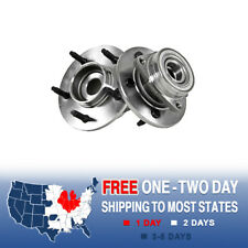 2 Front Wheel And Hub Bearing Assembly For 1997 1998 1999 2000 Ford F150 4X4 4WD